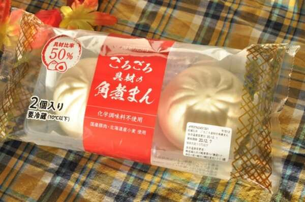 成城石井「ごろごろ具材の角煮まん」パッケージ