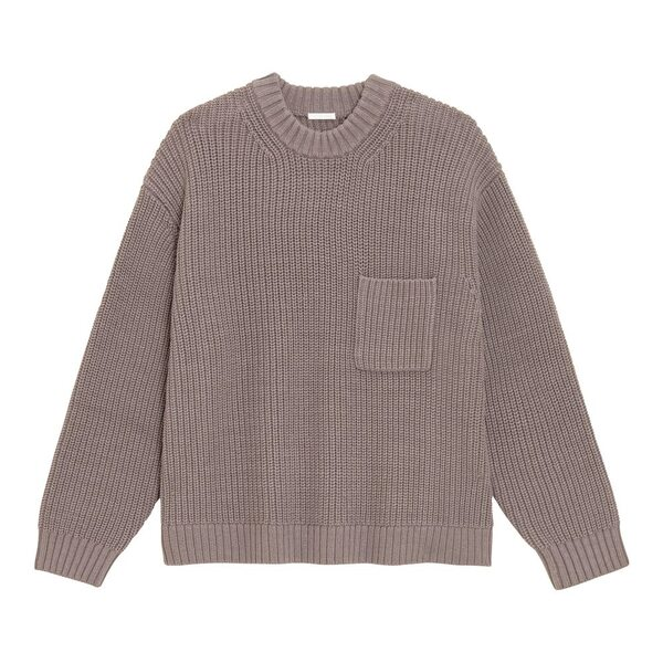 GUのローゲージワイドフィットクルーネックセーターの写真
