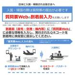 厚生労働省、入国時に提出する「質問票」を電子化