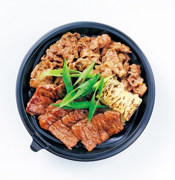京三昧!和牛すき焼き&ハラミ丼
