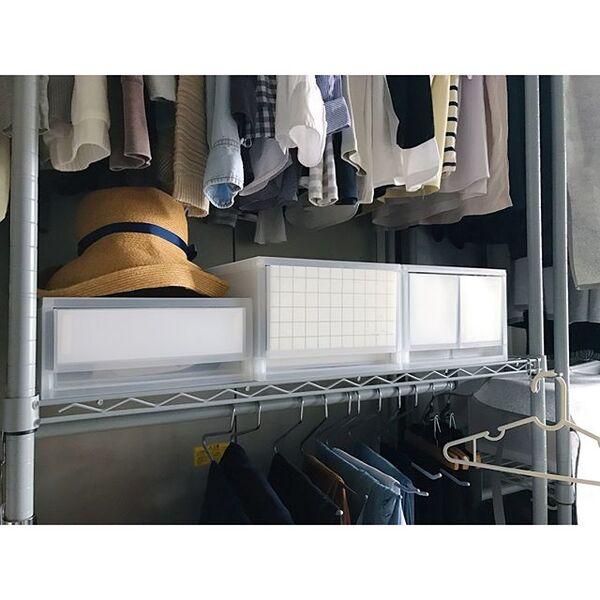 衣装ケースの目隠しアイデア10