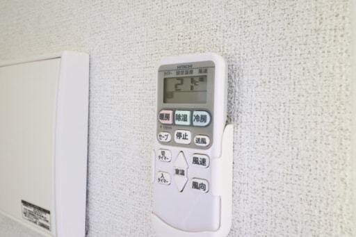 エアコンのリモコン