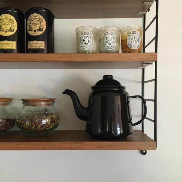 WECKを使って紅茶をおしゃれに保存