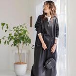 春らしくオールブラックを着こなす【2021】差し色が映えるコーデのコツ