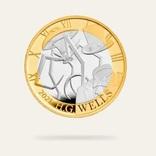 英国の2021年記念硬貨、H.G.ウェルズ記念デザインにおかしいところがあるぞ