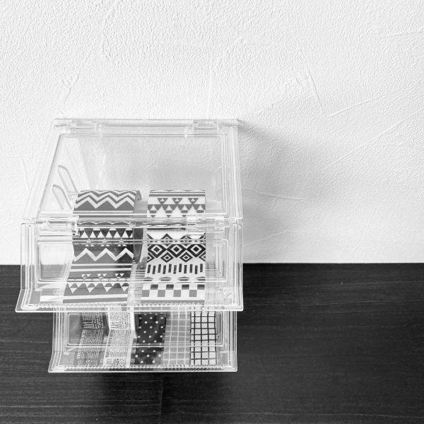 機能的なダイソーのテープケース