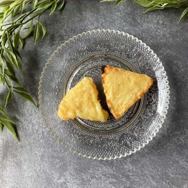 トースターとレンジで調理した業務スーパーのチーズポテト