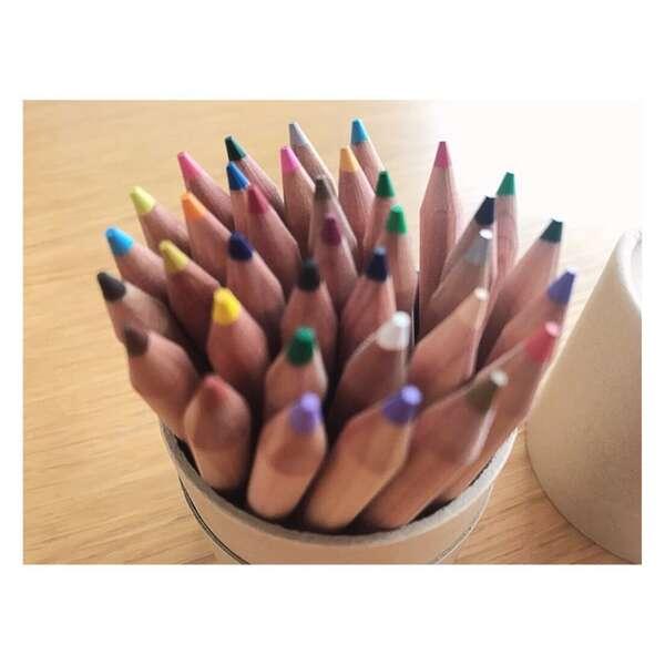 色鉛筆・ハーフサイズ