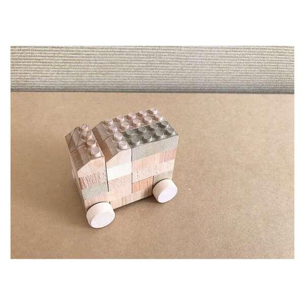 日本の木のおもちゃ木のブロックもくロック小