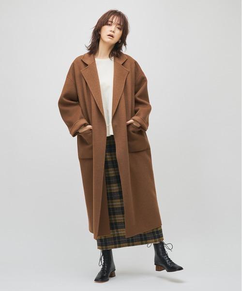 【秋冬のマストスカート】チェック タイトスカート