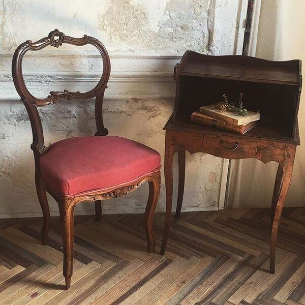 おしゃれな椅子を置くインテリア実例