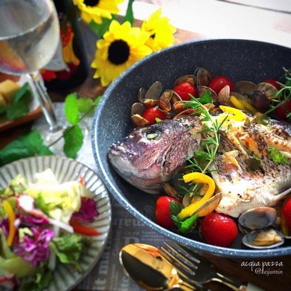 洋風人気魚レシピ!アクアパッツァ