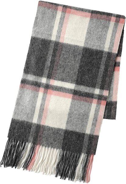 翎 オーストラリア産 ウール 100% マフラー レディース 羊毛 スカーフ チェック 秋冬 ギフト プレゼント