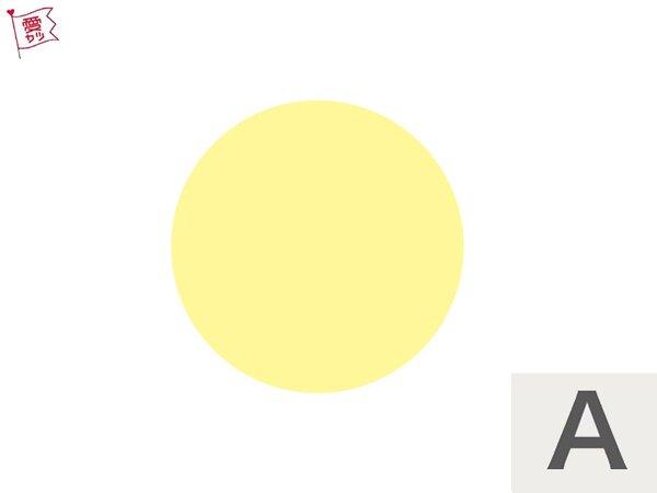 A:「黄色くて大きい丸」を選んだあなた