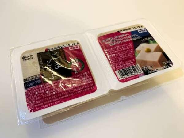 業務スーパー:ゴマ豆腐のパック入り写真