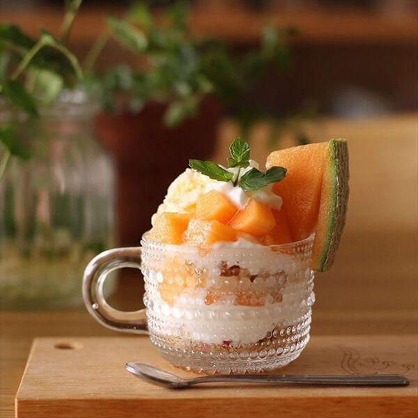 おすすめの簡単なデザート!メロンパフェ