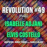 エルヴィス・コステロ、イザベル・アジャーニとコラボした「レヴォリューション#49(仏語ヴァージョン)」をリリース