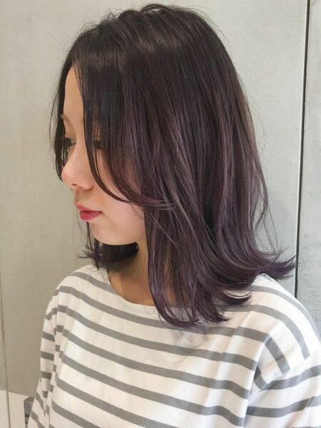 チークバング 髪型 ミディアム3