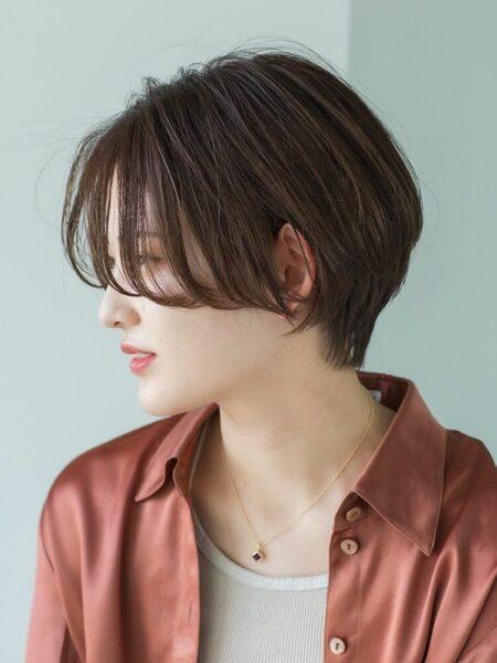 チークバング 髪型 ショート2