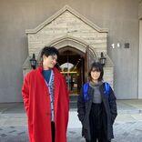 『ウチ彼』浜辺美波&岡田健史、身長差2ショットにきゅんきゅん「たまらん」