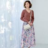 春に似合うフレアスカートコーデ【2021】軽やかに見せる大人可愛い着こなし