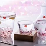 愛でるガラスの桜。青森県の伝統工芸品『津軽びいどろ さくらさくら』シリーズでお家でお花見を楽しもう!