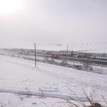 吹雪の東北道で100台以上の多重事故 大衡IC~築館IC下り線