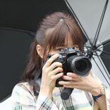 深川麻衣「意識したのは声の掛け方」 真摯にカメラに向き合うメイキング写真解禁