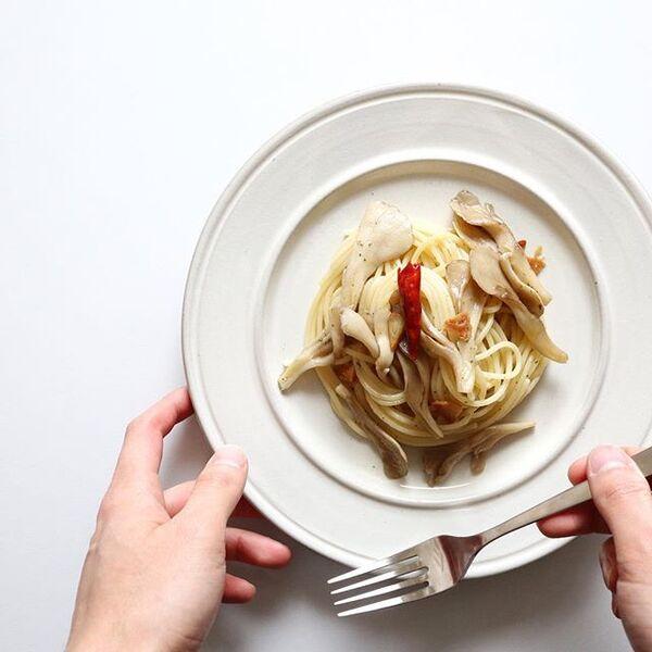 シンプルで美味しい具!舞茸のペペロンチーノ