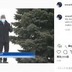 生中継で雪の丘から滑り落ちたリポーター、最後までしゃべり続けるプロ根性が凄い(カナダ)<動画あり>