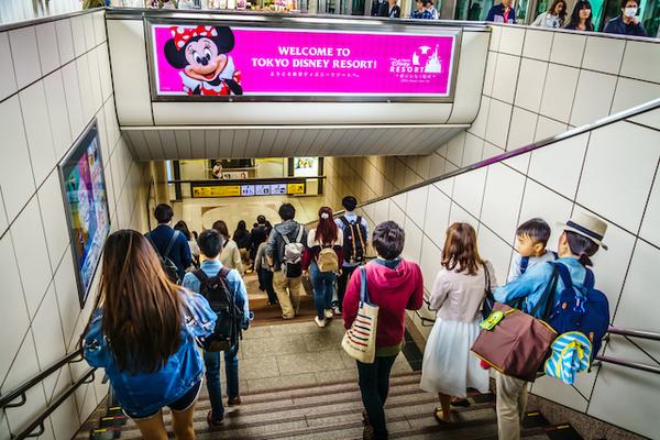 千葉県浦安市舞浜駅