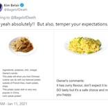 「メニューに掲載されたオーナーの正直すぎるコメント」がTwitterで話題となったカナダのチャイニーズ・レストラン