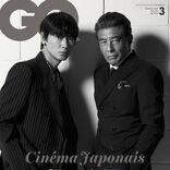 "『GQ JAPAN』表紙は綾野剛&舘ひろし、中村倫也ら""注目の映画人""へのインタビューも"