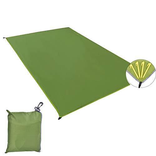 KAGAYAKI テントシート 防水 グランドシート 厚手 軽量 UVカット 折り畳み 収納袋付き 両面防水 キャンプ 登山 ピクニック レジャーシート S/M/L