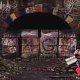 """映画『樹海村』公式TikTokが意外な部分で注目集める「犬鳴トンネル」の""""落書き""""にツッコミ"""