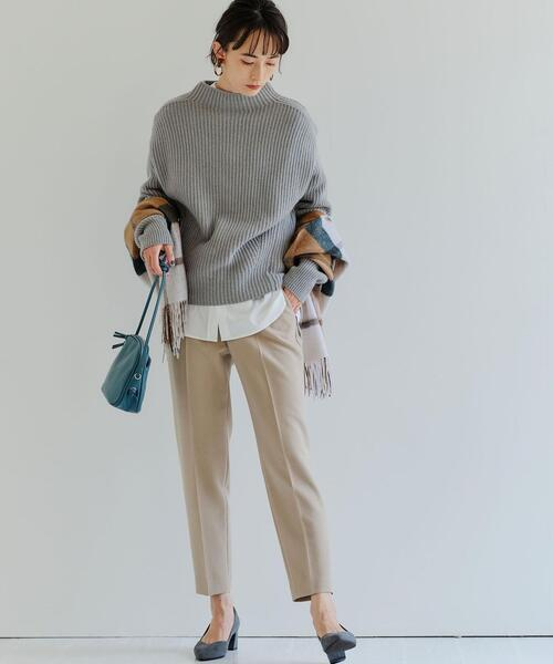 [green label relaxing] ◆model NO.05◆ D ポインテッド チャンキー パンプス 50