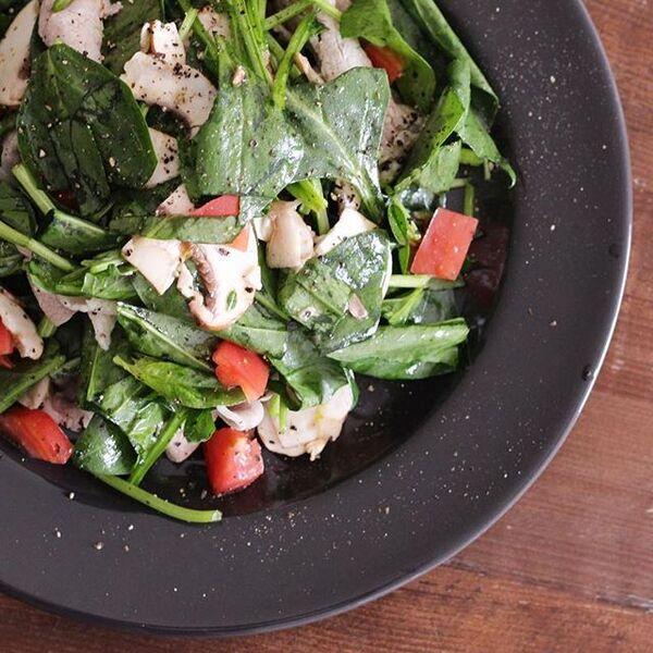 ほうれん草の簡単サラダレシピ