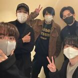 町田啓太『チェリまほ』メンバーとのマスクショット公開、ギャラクシー賞月間賞受賞に感謝
