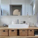 狭くてもスッキリ!きれいをキープする洗面所収納アイデア