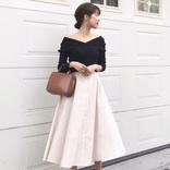 ユニクロのスカートを使った大人コーデ18選【2021春】人気商品の着こなし方