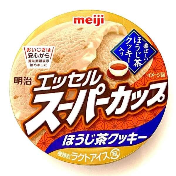 明治エッセルスーパーカップほうじ茶クッキー