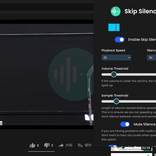 無音部分をスキップして動画の視聴を時短できるChrome拡張機能【今日のライフハックツール】