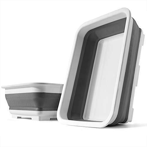 SOLPEX 洗い桶 折りたたみ 台所 おけ 抗菌 洗い桶 シリコン キッチン 収納 省スペース 洗濯 掃除 バス トイレ 食器の付け置き アウトドア キャンプ バーベキュー 浸け置き 洗い持ち運び 内外に適用 多機能 安全素材 一年間品質保証