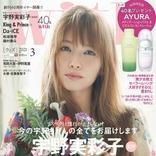 宇野実彩子が雑誌「with」に登場!全50ページにわたる特集で宇野ちゃんの魅力を全てお届け!