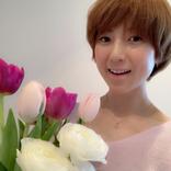 hitomi、45歳の誕生日を報告&子供の手書きメッセージに「嬉しいーっ!!」