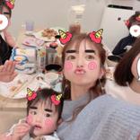 """辻希美、節分仕様の家族6SHOT公開&1年で1度の""""無言な食事""""に「落ち着かない…」"""