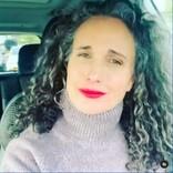 """「""""グレーヘア""""じゃなくて""""シルバーフォックス""""」女優アンディ・マクダウェルが自慢の白髪を力説"""