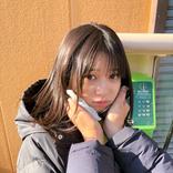 桜田ひより、あざとかわいい上目遣いショットに反響の声