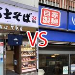 【悲報】富士そばとゆで太郎の「カレーかつ丼」を食べ比べてみた結果 → ゆで太郎の無双っぷりがヤバイことに / 立ち食いそば放浪記:第253回