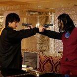 岩田剛典「胸を借りる気持ちで臨みました」金子ノブアキと迫力ガンアクションを披露